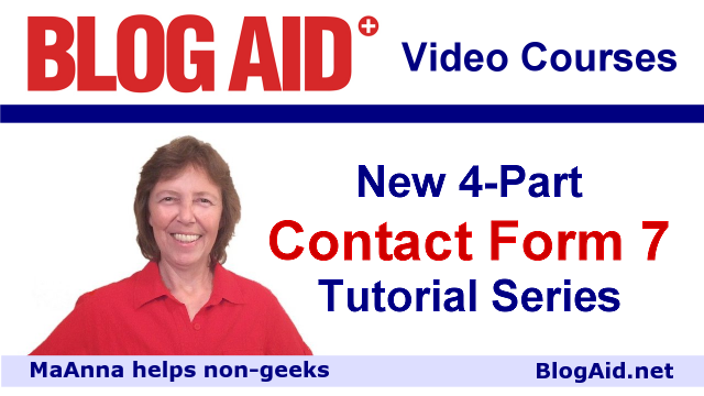 Four Part Contact Form 7 Tutorial Series
